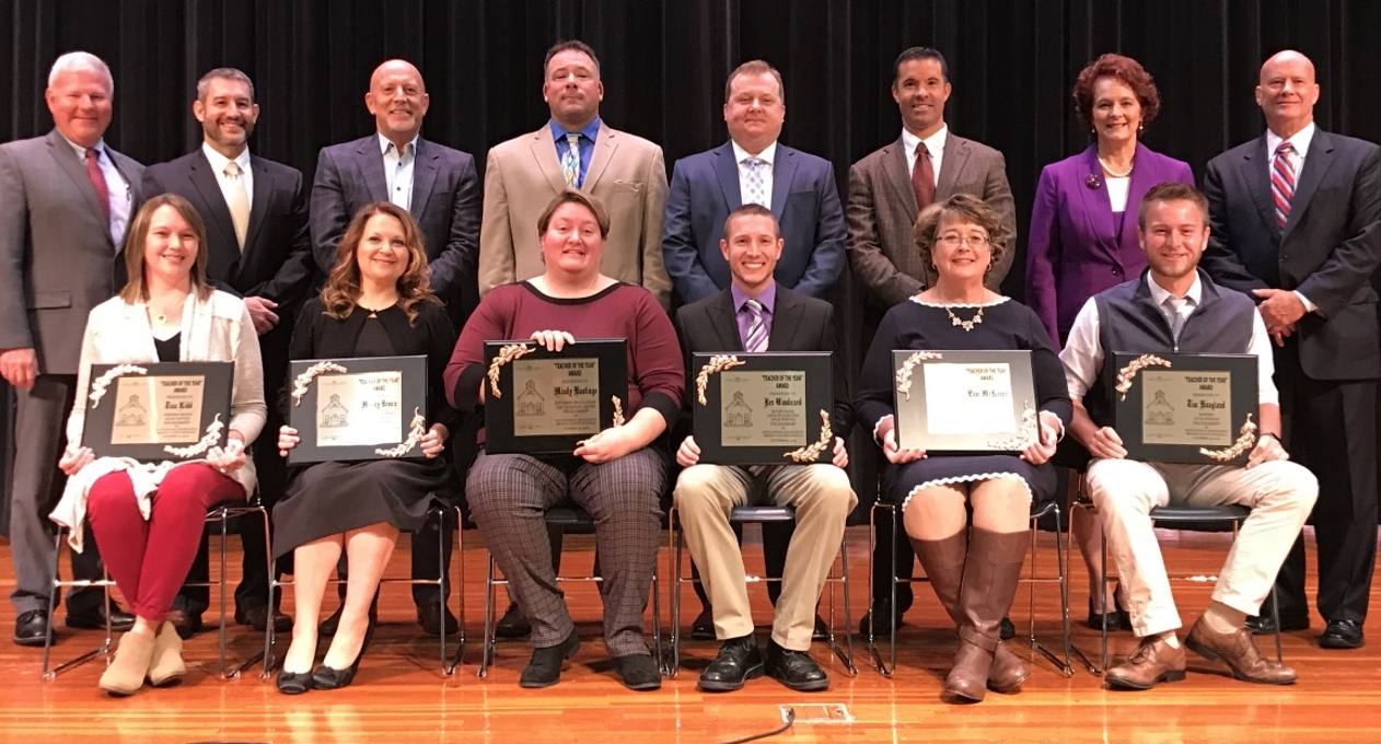 Brown County Teacher of the Year Nominees 2018 2019 SY